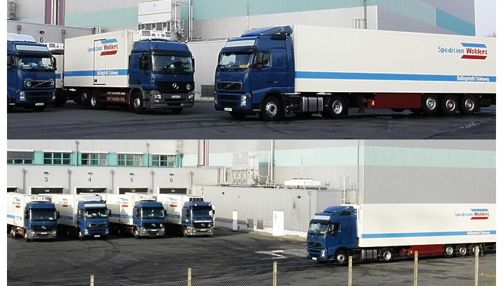 Twee koeltrailers met vlees van Duitse transportfirma Wohlert Spedition gestolen