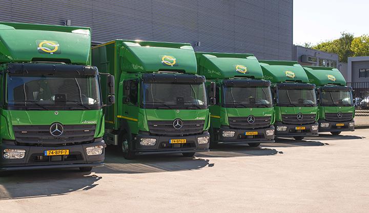 Raamovereenkomst Technische Unie goed voor 125 Mercedes-Benz Atego's