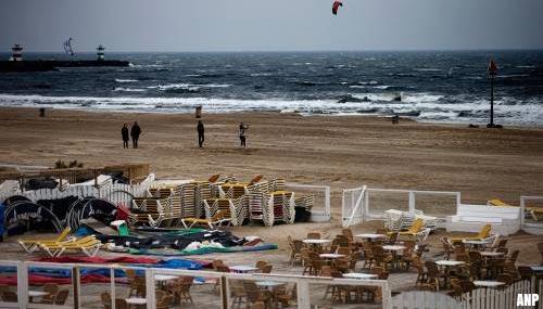 Den Haag: strandtenten blijven dicht, geen uitzondering mogelijk