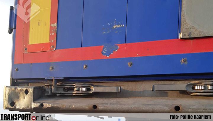 Stomdronken WhatsAppende vrachtwagenchauffeur van de A9 gehaald