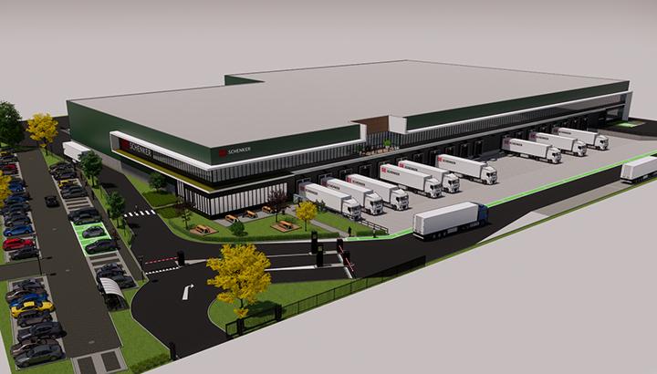 DB Schenker in Luxemburg breidt activiteiten uit in nieuw logistiek centrum