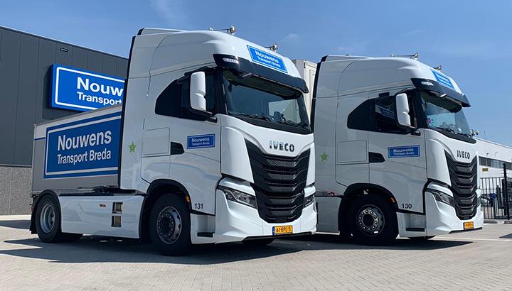 Twee IVECO S-WAY voor Nouwens Transport