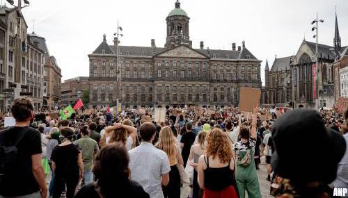 Oproep burgemeester tot vrijwillige quarantaine demonstranten