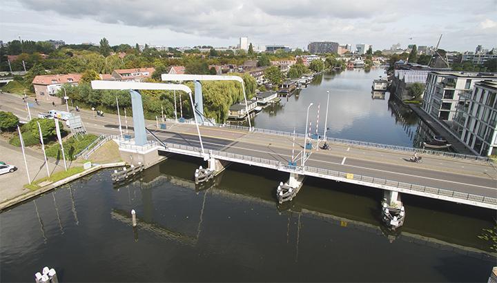 Renovatie Churchillbrug Leiden gestart