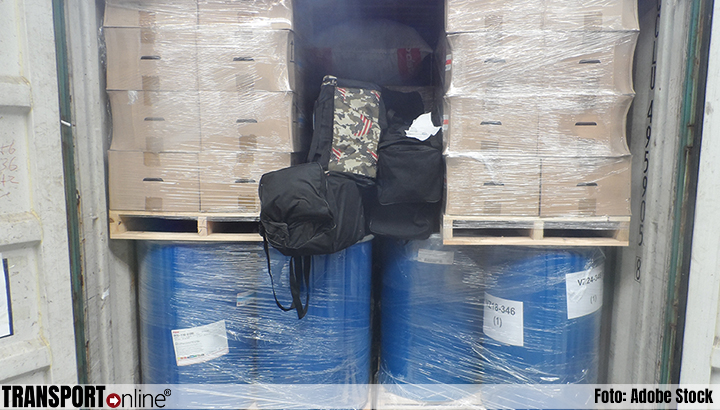 Douane onderschepte zaterdag 242 kilo cocaïne in Rotterdamse haven