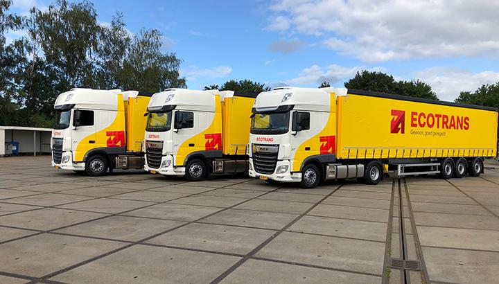 Drie nieuwe DAF FT XF voor Ecotrans