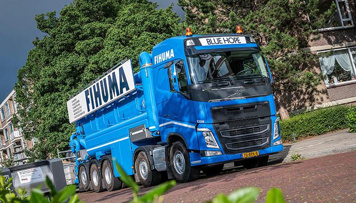 Nieuwe Volvo FH 460 10x4 voor Fihuma Groep