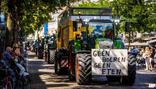 'Sympathie voor standpunt boeren maar niet voor trekkersprotest'
