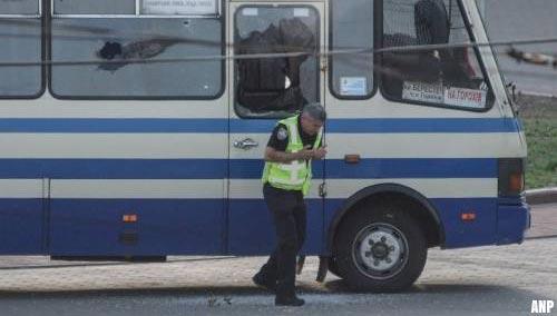 Politie beëindigt kaping bus in Oekraïne