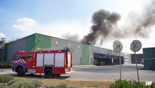 Brand in Heinekenbrouwerij in Den Bosch
