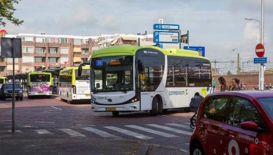 Noord-Hollandse OV-reiziger geeft de bus een dikke voldoende