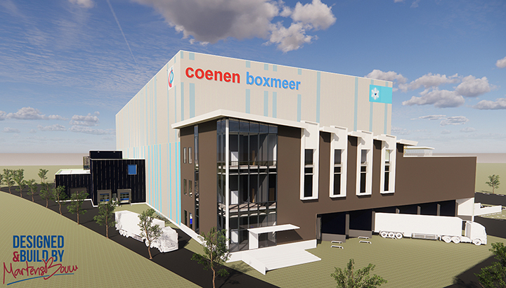 Transportbedrijf Coenen uit Boxmeer verhuist naar Bedrijvenpark Laarakker