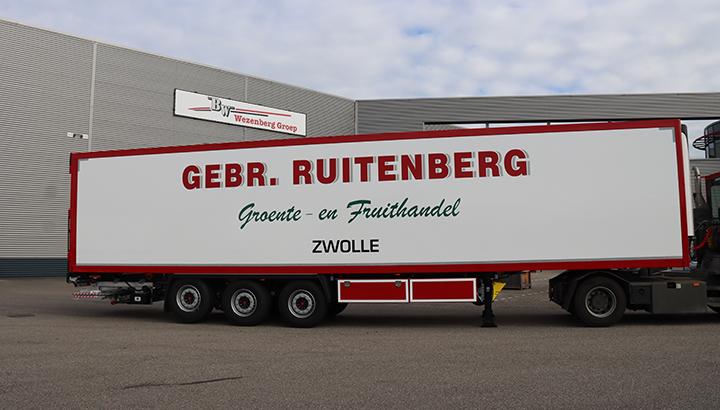 Nieuwe polyester Krone koeloplegger voor groente en fruithandel Gebr. Ruitenberg