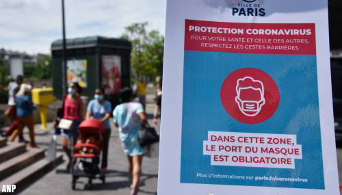 Parijs nu 'rode' zone door coronavirusinfecties