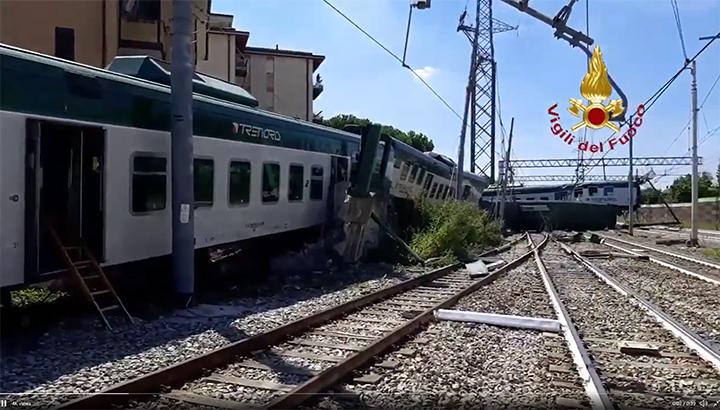 Trein verlaat Italiaans station zonder machinist: drie gewonden [+video]