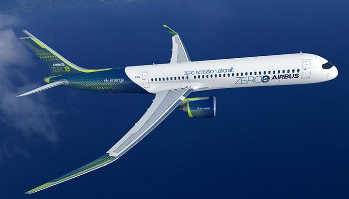 easyJet verwelkomt nieuwe emissievrije vliegtuigconcepten van Airbus
