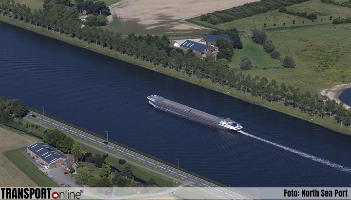 Goederenvervoer via binnenvaart tussen North Sea Port en achterland blijft toenemen