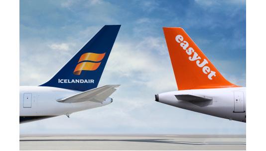Icelandair nieuwe partner in 'easyJet Worldwide'