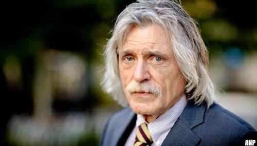 Johan Derksen zegt niets over terugkeer VI, 'gaat gewoon zitten'