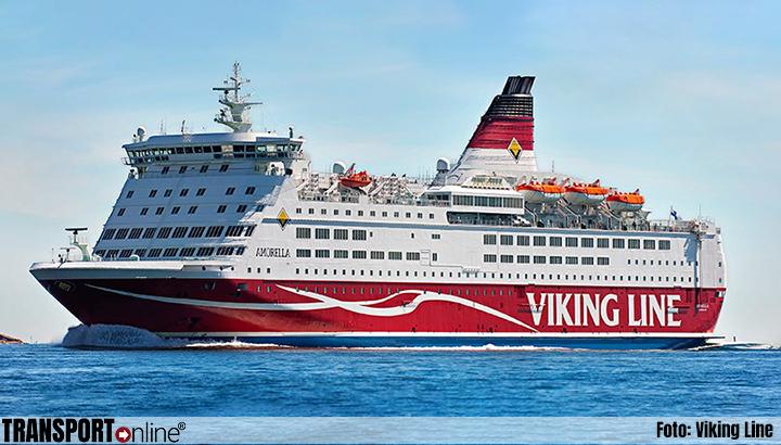 Finse veerboot 'M/S Amorella' aan de grond gelopen, mogelijk na problemen aan boord