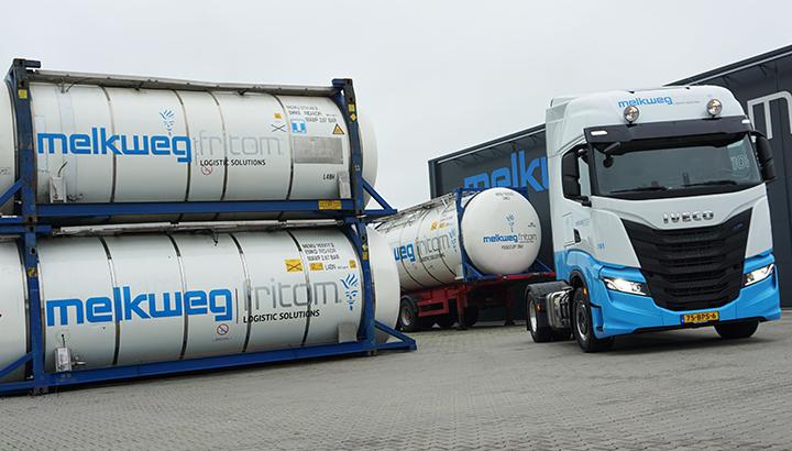 Nieuwe IVECO S-WAY NP op LNG voor Melkweg Fritom