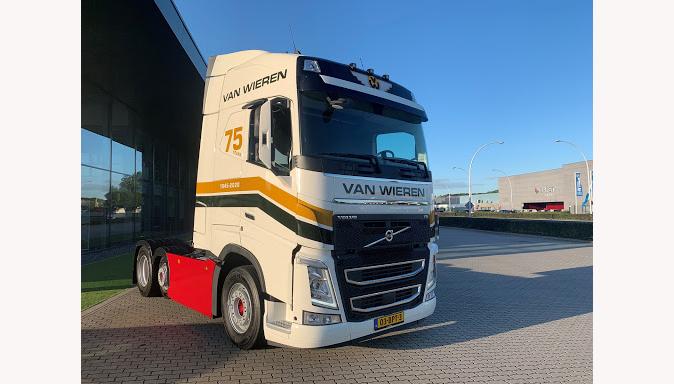 Van Wieren International BV breidt vloot uit met speciale Volvo FH 460-trekker