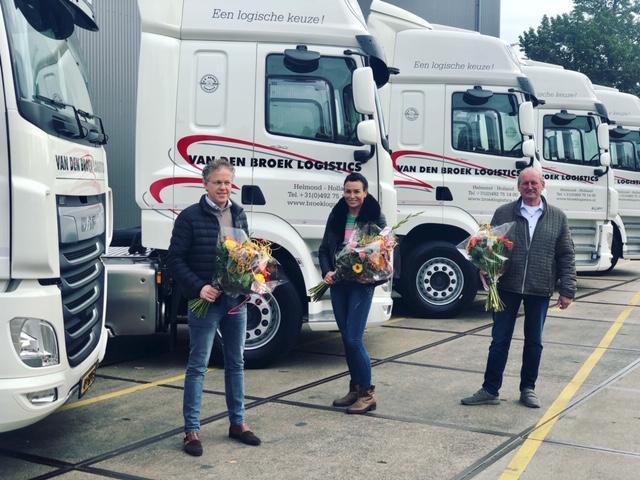 Opnieuw vijf nieuwe DAF CF 430 voor Van den Broek Logistics
