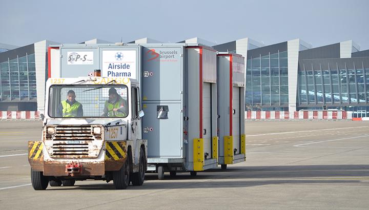 Brussels Airport stoomt zich klaar voor het COVID-19 vaccin