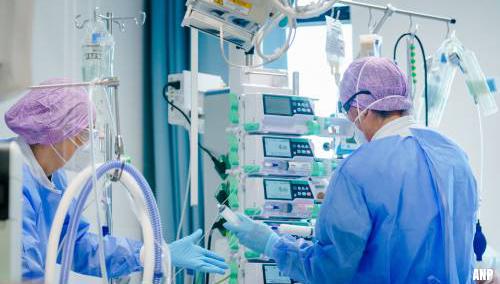 Patiënten met corona in ziekenhuizen stijgt verder