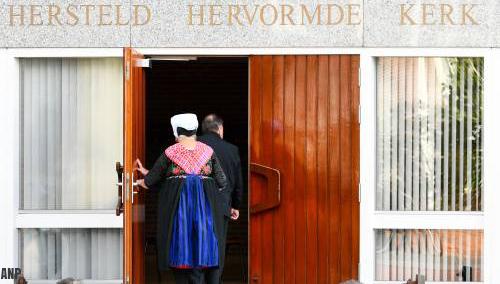 Minder bezoekers voor diensten Hersteld Hervormde Kerk Staphorst