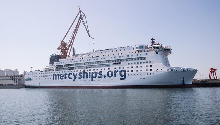 Mercy Ships kondigt de Global Mercy aan, 's werelds grootste particuliere ziekenhuisschip