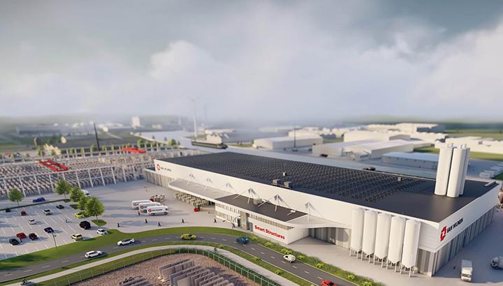 Van Wijnen gaat nieuwe fabriek voor duurzame woningen in Heerenveen bouwen