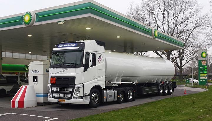 BP Nederland besteedt transport en planning uit aan Nijhof-Wassink