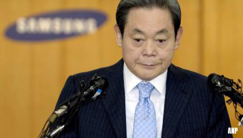 Samsung-topman Lee Kun-Hee (78) overleden