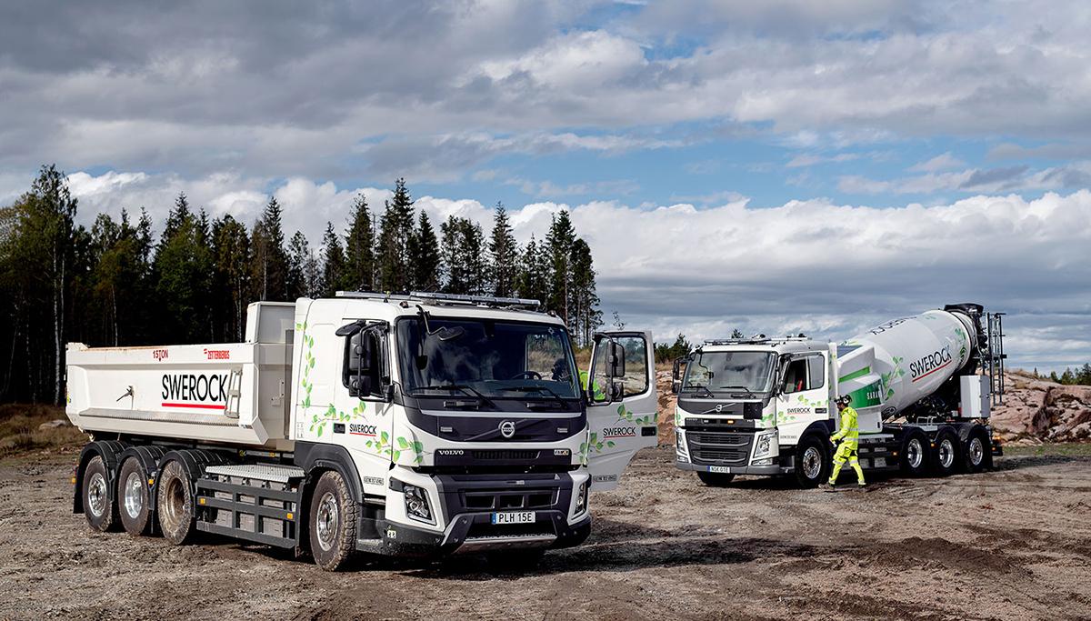 Volvo Trucks gaat volledig elektrische FM en FMX testen bij een klant in de bouwsector