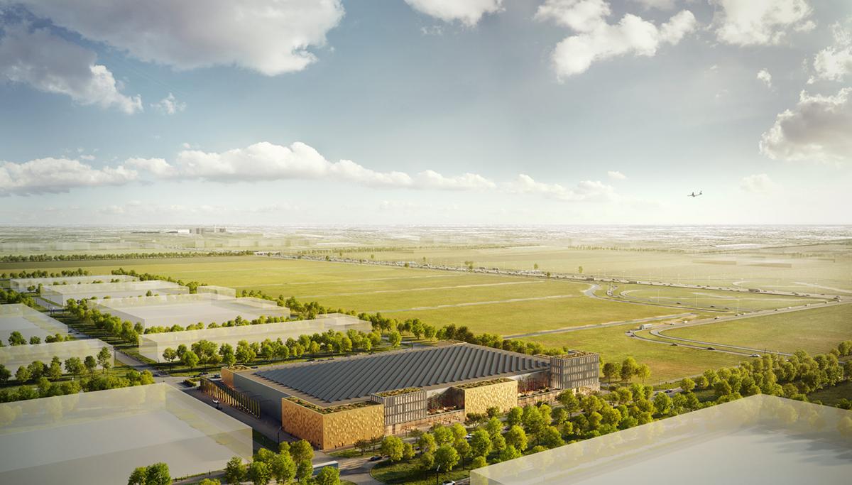 VDG Real Estate ontwikkelt VDG Warehouse Schiphol op Schiphol Trade Park