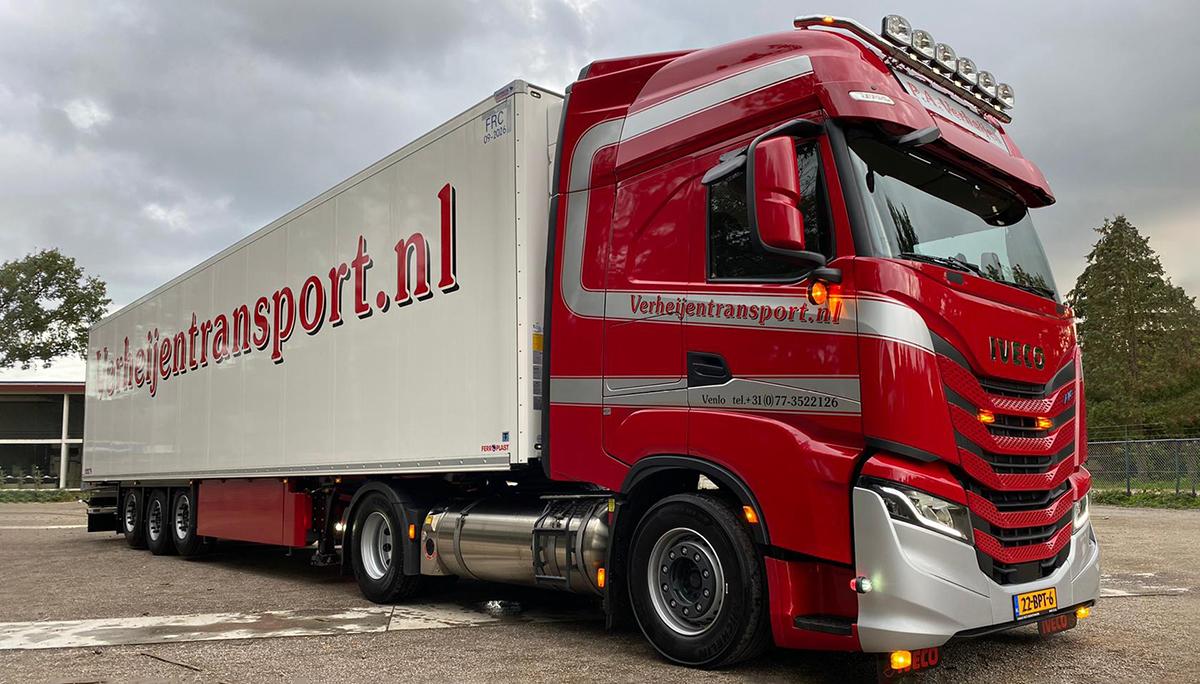 Nieuwe IVECO S-WAY NP op LNG voor Verheijen Transport
