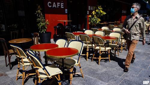 Cafés in Parijs moeten sluiten