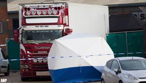 Vier verdachten in zaak dodentrailer maandag voor rechter in Londen