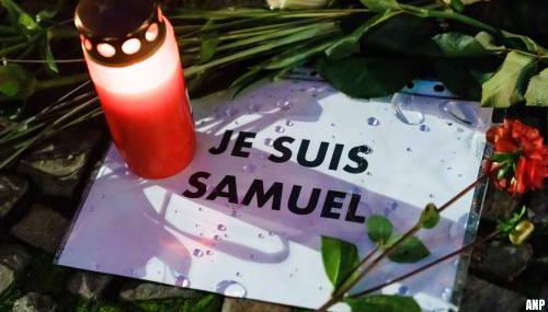 Onthoofde Franse leraar Samuel Paty krijgt postuum hoogste Franse onderscheiding
