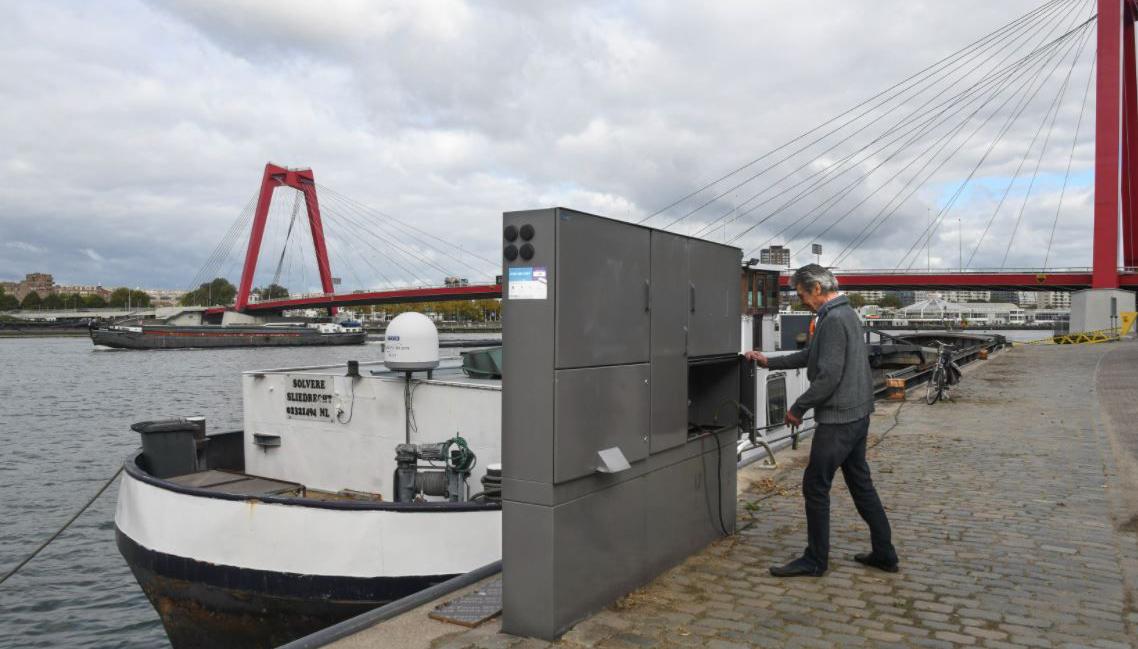 Belgische en Nederlandse binnenvaarthavens naar één stroomsysteem