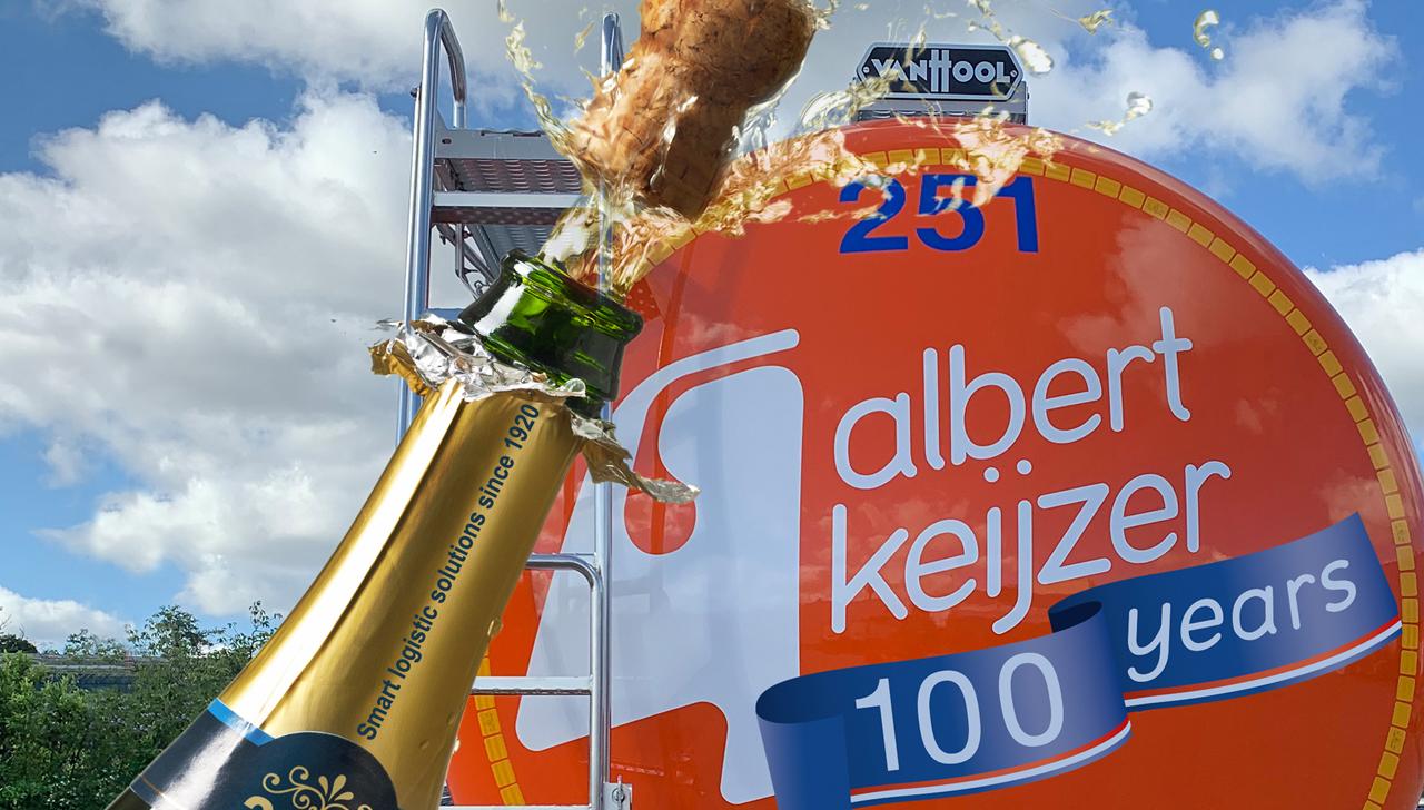 Albert Keijzer viert 26 november 100-jarig jubileum op gepaste manier