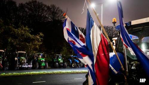 Vertraging op wegen rond Den Haag door boerenprotest