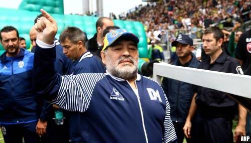 Diego Maradona (60) overleden na hartstilstand