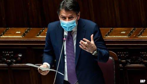 Premier Italië kondigt nieuwe coronamaatregelen aan