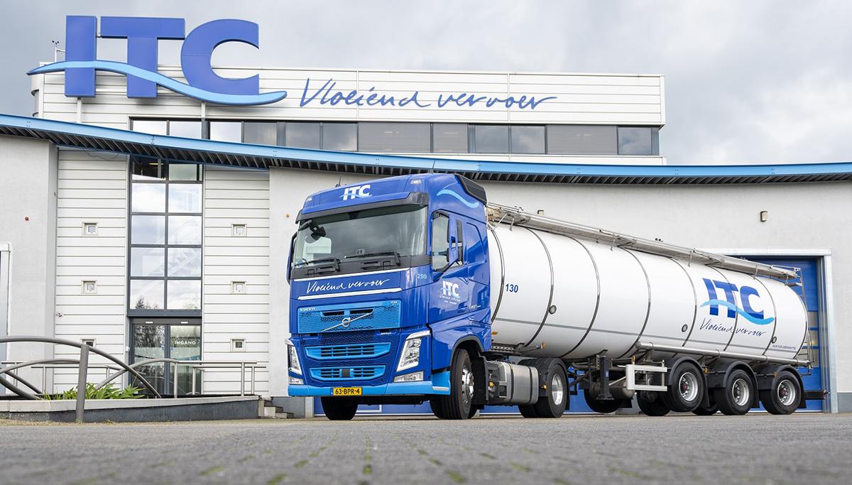 Twaalf nieuwe Volvo's FH voor ITC Holland