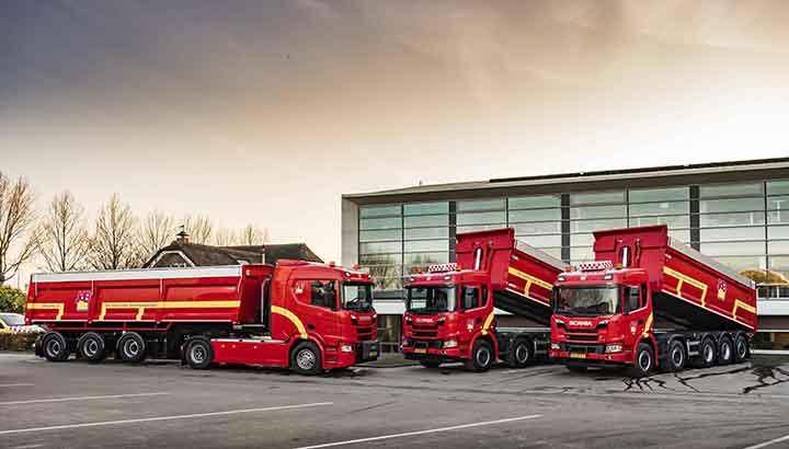JdB kiest voor Scania XT bouwvoertuigen