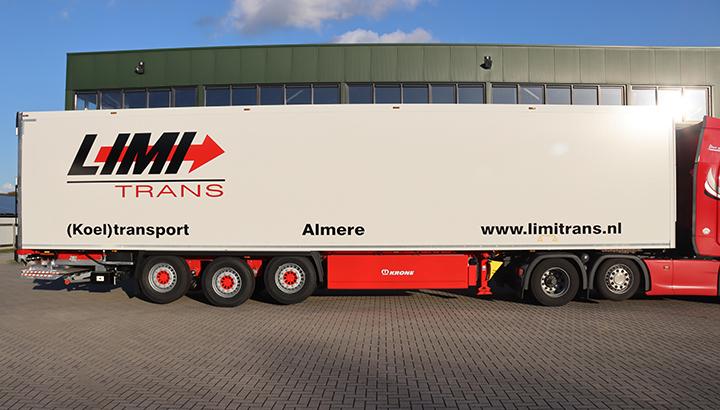Nieuwe polyester Krone koeloplegger voor Limi Trans uit Almere
