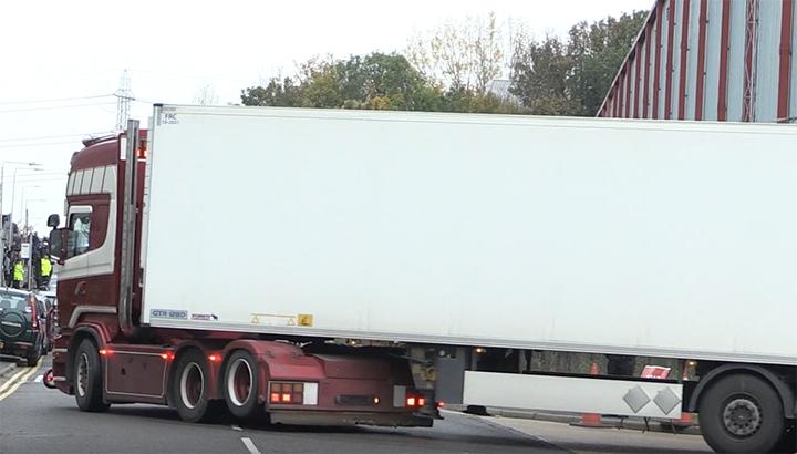 Chauffeur van dodentrailer naar Zeebrugge is er 'kapot van' en 'was niet op de hoogte'