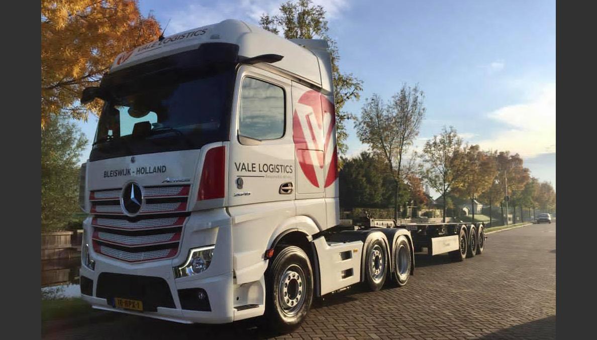 Dertig nieuwe Mercedes-Benz trucks voor Vale Logistics